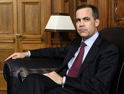 Bank of England, Mark Carney, England, Canada